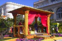 Лимон Menton 2011 празднует Стоковые Фото