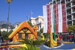 Лимон Menton 2011 празднует Стоковые Фотографии RF