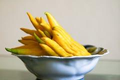 лимон s руки Будды Стоковые Фотографии RF