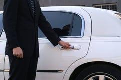 лимузин водителя Стоковая Фотография RF
