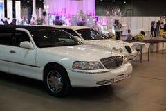 Лимузин свадьбы Стоковое Фото