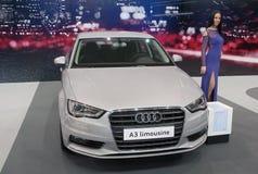 Лимузин Audi A3 автомобиля Стоковое Изображение