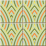 Линейная шкала повторения кривой картины 391 керамической плитки бесплатная иллюстрация