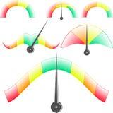 Линейные и необыкновенные показатели эффективности иллюстрация вектора