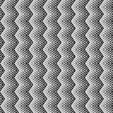 Линии безшовная картина волнистого зигзага вертикальные Плавно repeatable предпосылка иллюстрация вектора