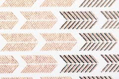 Линии бумага дизайна мотива Брауна kraft белые картины для шарфа обруча подарка печати крышек заполнений картины обоев ткани пове стоковые изображения