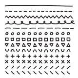 Линии вручают вычерченному вектору рамки установленную иллюстрацию иллюстрация штока
