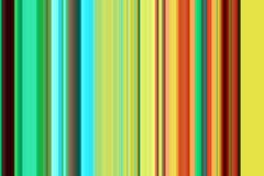 Линии в желтых голубых красочных оттенках, абстрактной текстуре и картине Стоковая Фотография RF