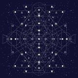 Линии геометрии священные Стоковая Фотография