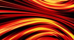 Линии жидкостного пожара предпосылки иллюстрация штока
