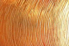 Линии золота покрашенные Стоковое фото RF
