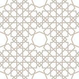 Линии исламской звезды серые с белой предпосылкой, традиционным дизайном бесплатная иллюстрация