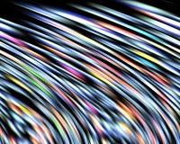 Линии и движение, абстрактная предпосылка Стоковое фото RF