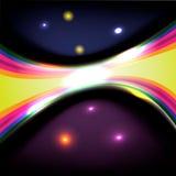 Линии и отражения предпосылки иллюстрация вектора