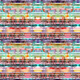 Линии и пятна акварели картина безшовная Иллюстрация вектора