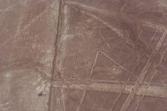 Линии и geoglyphs Nazca Стоковые Фото