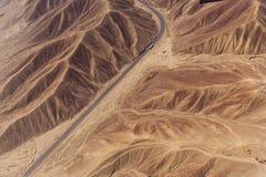 Линии и geoglyphs Nazca Стоковое Изображение RF