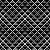 Линии картина вектора безшовные Современная стильная абстрактная текстура Повторять геометрические плитки с элементами нашивки Or бесплатная иллюстрация