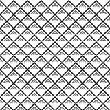 Линии картина вектора безшовные Современная стильная абстрактная текстура Повторять геометрические плитки с элементами нашивки Or иллюстрация вектора