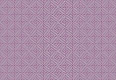 Линии квадрата Panno установленные раскосные украшают дырочками фиолетовую сирень и косоугольник иллюзии картины белого влияния т Стоковое фото RF