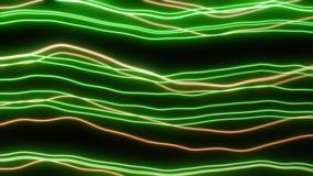 Линии конспекта неоновые волнистые иллюстрация штока