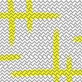 Линии конспекта Hendwritten, треугольники Стоковое фото RF
