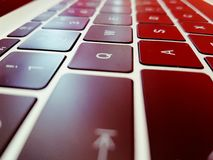 Линии клавиатуры Стоковое Изображение RF