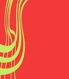 линии над красным цветом Стоковое фото RF