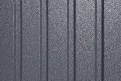 Линии на предпосылке металлического листа Профилированный стальной лист Смогите быть использовано как предпосылка стоковое изображение rf