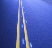 Линии дороги Стоковое фото RF