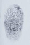 Линии отпечатка пальцев стоковые фото