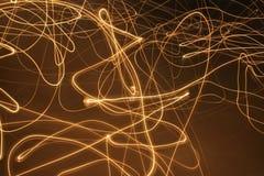 линии пламени Стоковые Фото