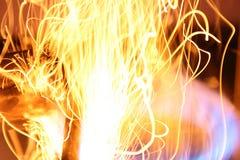 линии пожара Стоковые Изображения RF
