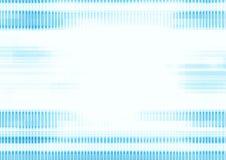 линии предпосылки голубые Стоковая Фотография RF