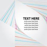 линии предпосылки творческие Стоковое Изображение RF