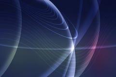линии предпосылки футуристические неоновые Стоковые Фотографии RF