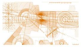 линии предпосылки Стоковая Фотография RF