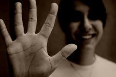 линии руки Стоковое Изображение RF