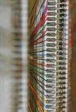 линии связи Стоковое Изображение RF