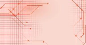 Линии сети Technologic на плоский соединяться предпосылки видеоматериал