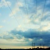 линии сила Стоковое фото RF