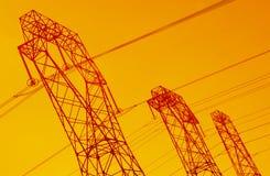 линии сила Стоковое Изображение