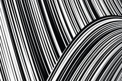 Линии снованные конспектом черно-белые предпосылка иллюстрация штока