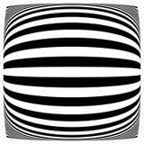 Линии с влиянием деформации Абстрактный uncolored, monochrome il Стоковое Изображение RF