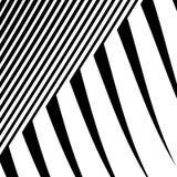 Линии с искажением Нервные, волнистые линии monochrome геометрическое Пэт Стоковые Изображения RF