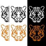 Линии тигра Иллюстрация вектора