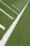 линии футбола Стоковая Фотография RF