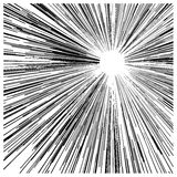 Линии черноты движения скорости конспекта вектора иллюстрации, с circ Стоковое Фото