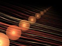 линии шариков Стоковое Изображение RF