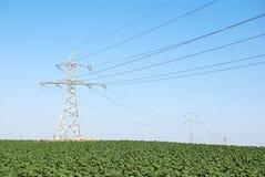 линии электричества Стоковое фото RF